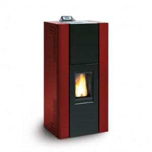 pellet-stove-royal-idro-red