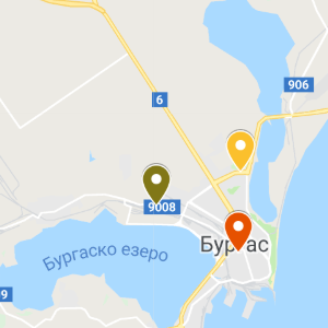 burgas map