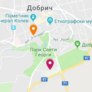 dobrich map