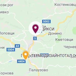 gabrovo map