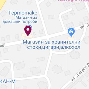 kardjali map