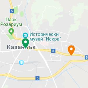 kazanlak map