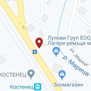 kostenec map