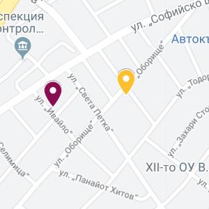 pernik map