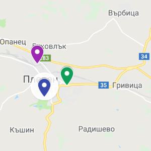 pleven map