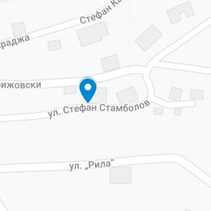 sandanski map