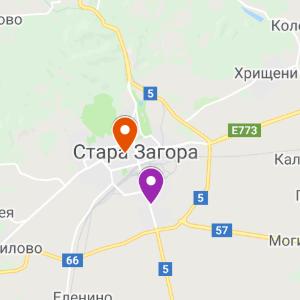 st.zagora map