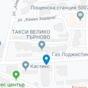 tarnovo map