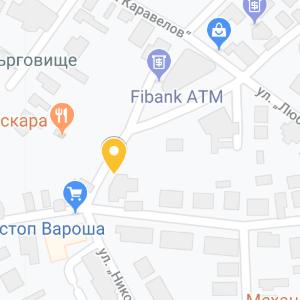 tyrgovishte map